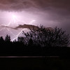 <b>Submitted By:</b> Michell Clishe <b>From:</b> Traverse City <b>Description:</b> Lightning from a summer storm.
