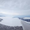 Photographer: Nicole Thurmond, a graduate student at Western Michigan University attending classes at Northwestern Michigan College's University Center, snapped this photo taking off from Traverse City on March 8.
