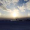 Sun dog near Grawn.<br /> <br /> Photographer's Name: Peggy McNamara<br /> Photographer's City and State: Traverse City, MI