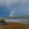 Snow Bow over East Bay<br /> <br /> Photographer's Name: peggy Sue  Zinn<br /> Photographer's City and State: Traverse City, MI