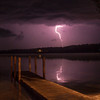 Lightning over Fife Lake<br /> <br /> Photographer's Name: Peggy Sue Zinn<br /> Photographer's City and State: Traverse City, MI