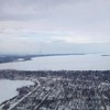 Nicole Thurmond, a graduate student at Western Michigan University, snapped this photo taking off from Traverse City on March 8.