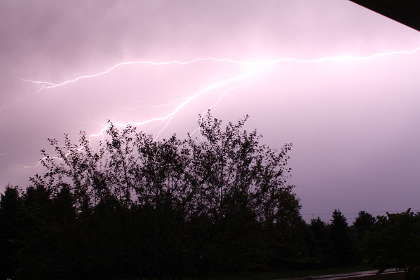 <b>Submitted By:</b> Michell Clishe <b>From:</b> Traverse City <b>Description:</b> Lighting from a summer storm.