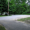 We had a bear sighting on Cherokee St., one street west of our Monroe <br /> location in the Slabtown neighborhood of Traverse City.  A neighbor, Mike <br /> Kreft, took the pix.  Mike lives right next to Willow Hill School.   Now <br /> there is a scary thought!  -- Ralph Cerny