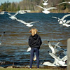 <b>Submitted By:</b> Paul J Nepote <b>From:</b> Traverse City, Michigan <b>Description:</b> FEEDING THE GULL'S AT LOGANS LANDING