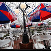 Taken Satruday afternoon Dec. 21st, The Mont outdoor dining area is covered in icicles<br /> <br /> Photographer's Name: Bill Noesges<br /> Photographer's City and State: Norman, OK