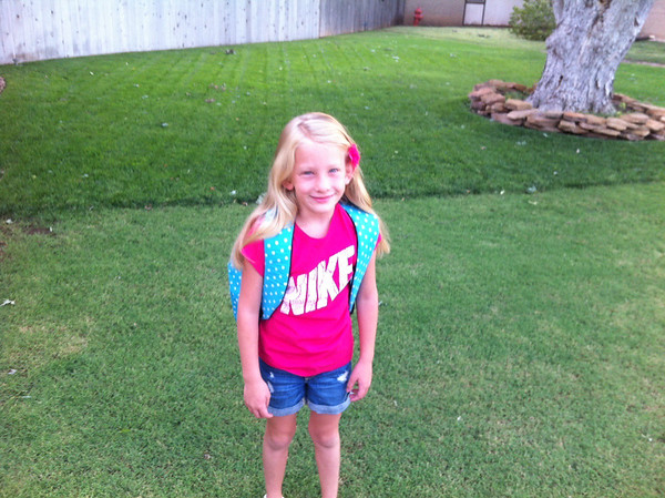 Haley Hibbets 2nd grade  Photographer's Name: Avadelle Hibbets  Photographer's City and State: Enid, OK
