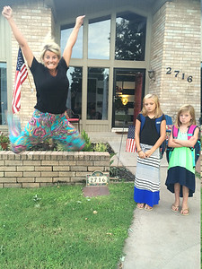 First day of school. Submitted by Elizabeth Hurlbutt