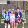 Ashton 3rd, Zoe Pre-K & Ayden 5th grade 1st day of school! Go Longhorns! <br /> <br /> Photographer's Name: Amber Warden<br /> Photographer's City and State: Enid, OK