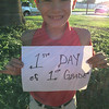 Gavin - 1st grade St. Joe's <br /> <br /> Photographer's Name: Sandra Huffman<br /> Photographer's City and State: Enid, OK