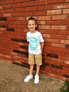 Kyson, Kindergarten   Photographer's Name: Allison Sherrill Photographer's City and State: Enid, OK