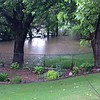 This is taken from the backyard of 912 Brookside Drive looking toward the northwest into the next door neighbor's yard, both of which back up to the Bird Sanctuary or Weldon Park in the City of Enid.<br /> <br /> Photographer's Name: Amber Gill<br /> Photographer's City and State: Enid, OK