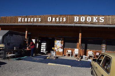Reader's Oasis Bookstore, Quartzsite, AZ