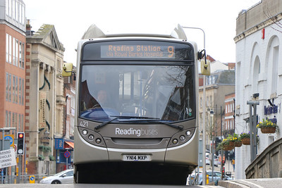 Reading Buses 421 London Street Reading 1 Feb 17