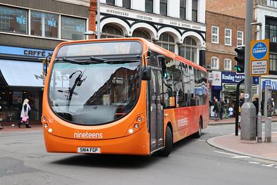 Reading Buses 167 Friar Street Reading Feb 17