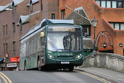Reading Buses 402 London Street Reading 1 Feb 17
