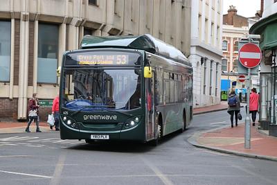 Reading Buses 405 Jacksons Corner Reading Feb 17