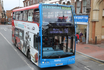 Reading Buses 861 West Street Reading Feb 17