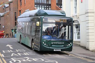 Reading Buses 402 London Street Reading 2 Feb 17