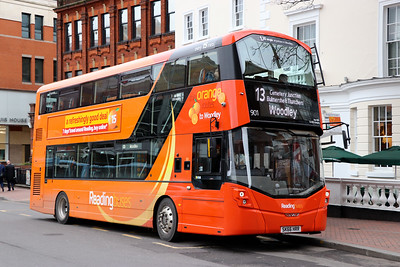 Reading Buses 901 Blagrave Street Reading 2 Feb 17