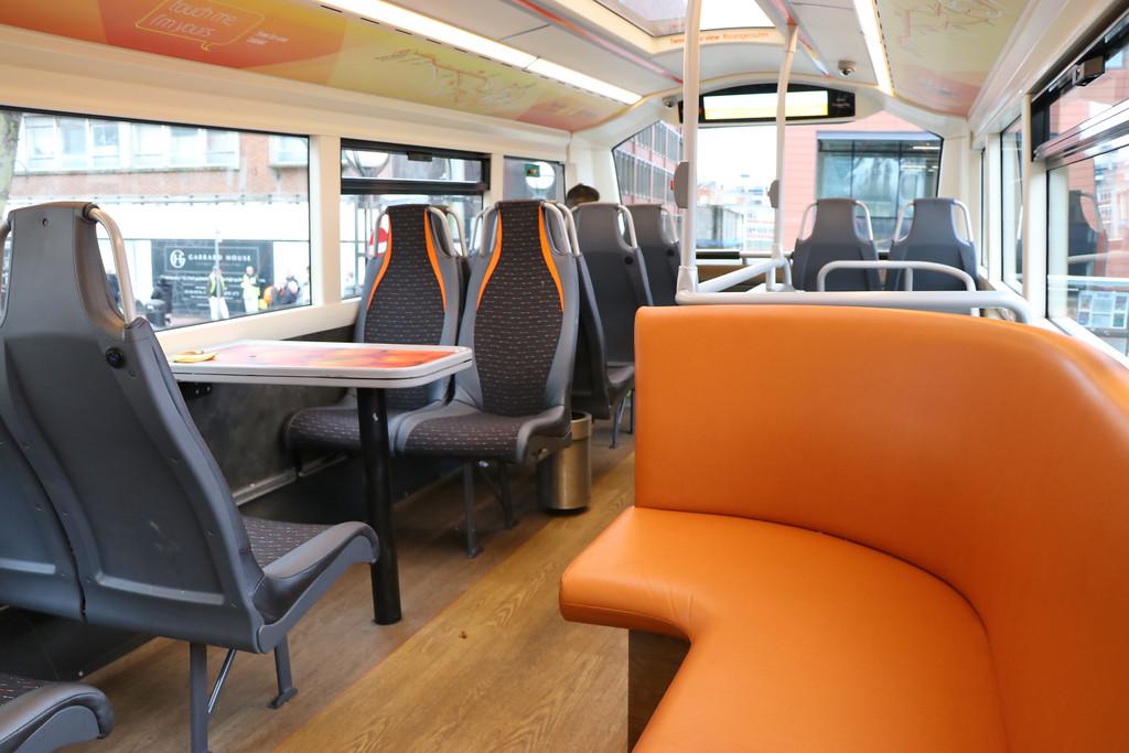 Reading Buses 903 Top Deck Interior Feb 17