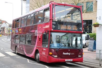 Reading Buses 808 London Street Reading Feb 17