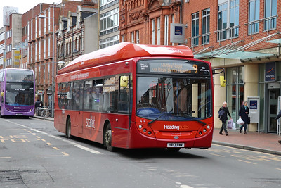 Reading Buses 414 Friar Street Reading Feb 17
