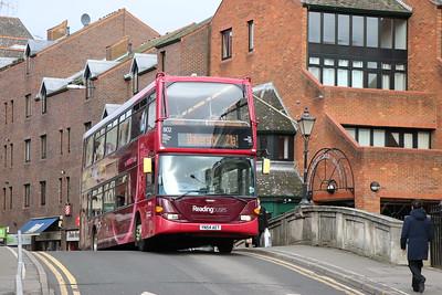 Reading Buses 802 London Street Reading 2 Feb 17