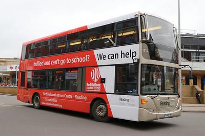 Reading Buses 1114 Blagrave Street Reading Feb 17