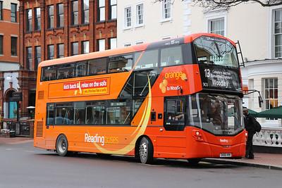 Reading Buses 903 Blagrave Street Reading 3 Feb 17