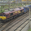 66016 passes Willesden Jn with 4M31 Dollands Moor - Hams Hall