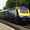 43042 leads a FGW service through Reading West
