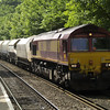 66128 passes Reading West with 6M20 Whatley - St. Pancras