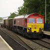 59206 passes Reading West with 7Z20 Grain - Merehead