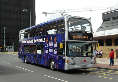 801 - YN54AEP - Reading (railway station) - 16.8.12