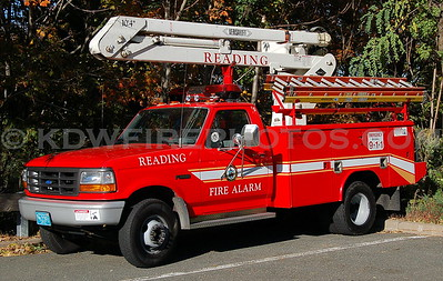 Car 5 - 1996 Ford/Reading/Versalift Fire Alarm Truck