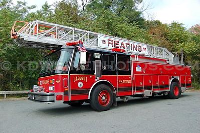 Ladder 1 - 1991 Emergency-One 110' RMA (Now serving Salisbury, MA)