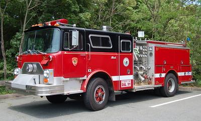 Engine 1 - 1986 Mack CF/Pirsch (Former Wakefield Engine, now serving Woburn, MA)