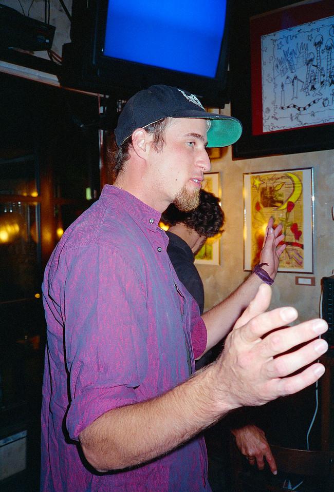 Frank Czajka's Guttervision Showcase at Ludecrest Cafe, Los Angeles, 1994 - 3 of 5