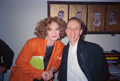 Stephen Parr Presents Holly Woodlawn Reading at Cafe Beano, San Francisco, 1992