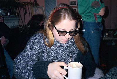 Poetry with Lynne Tillman at La Locanda di Giotto, NYC, 1985 - 2 of 4