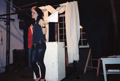 Sami Formo Presents Sparkly Glam Reading at ABC No Rio, NYC, 1988 - 3 of 3