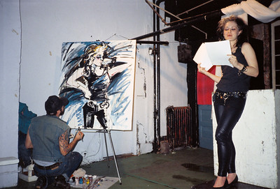 Sami Formo Presents Sparkly Glam Reading at ABC No Rio, NYC, 1988 - 1 of 3