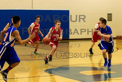 Readington Rec Boys 7th Grade Dec. 30, 2015
