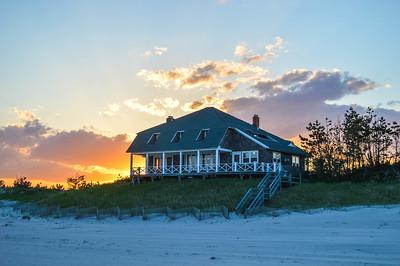 The Beach Shack Sunset