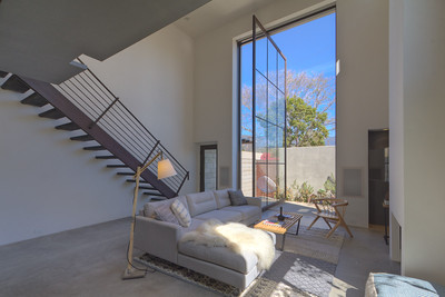 Santa Barbara Modern Loft with revolving panel