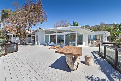 Malibu Home with custom deck