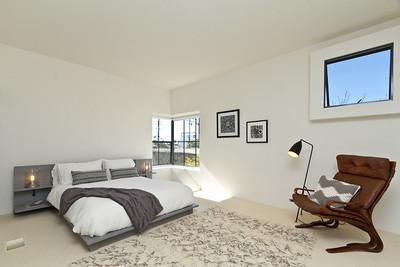 Santa Barbara Modern Master Bedroom