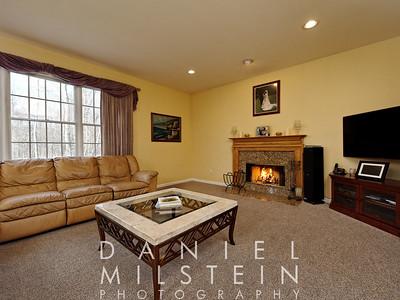 Living room off kitchen