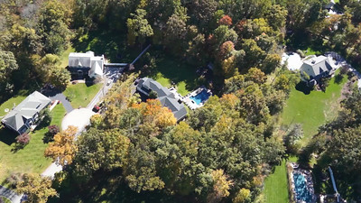 19 Wooded Way aerial